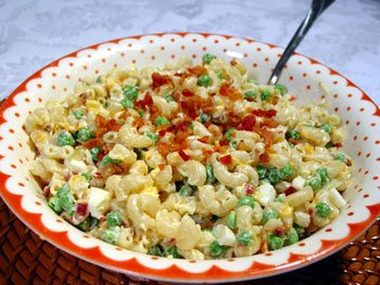 easy family macaroni salad