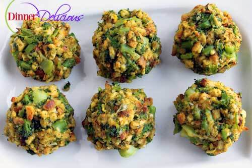 broccoli and stuffing mix with cheddar