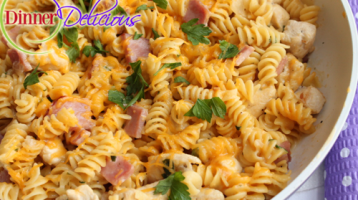 Quick and Delicious Chicken & Noodles