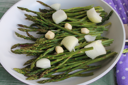 low fat cream of asparagus soup