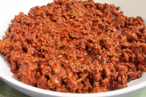 Healthy Sloppy Joe Recipe cooked from scratch