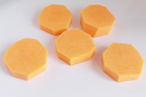Pieces of cut butternut squash