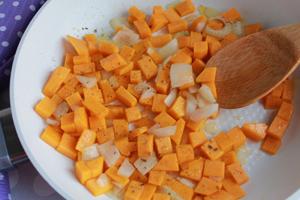 sauteed the butternut squash