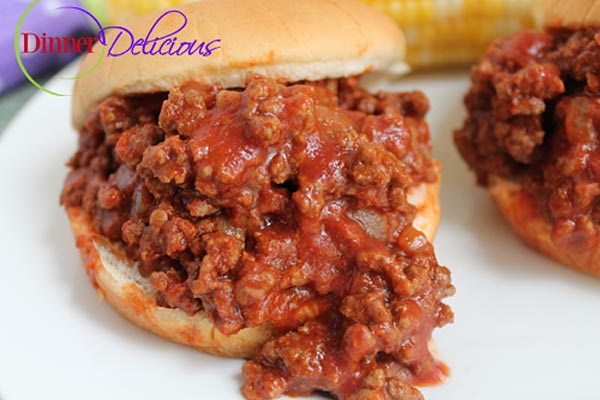 Healthy Sloppy Joe Recipe Made from Scratch