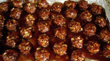Easy BBQ Meatball Recipe