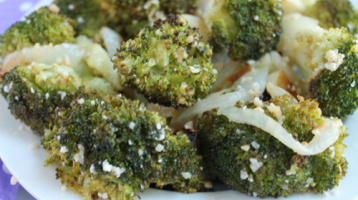 Best Roasted Garlic-Parmesan Broccoli EVER