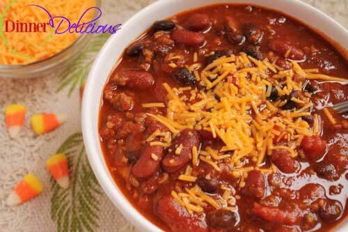 Recipe for Homemade Chili