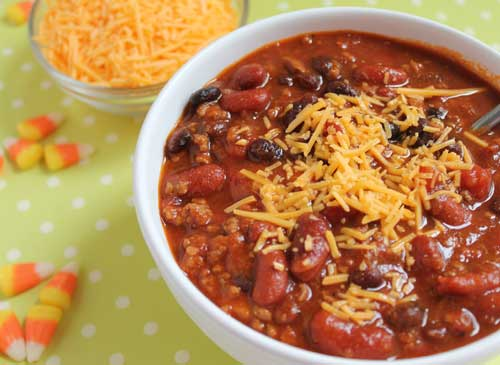 easy homemade chili recipe
