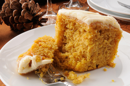 weight watchers pumpkin sheet cake