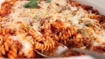 easy pasta skillet bake