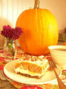 delicious pumpkin dessert perfect for Thanksgiving