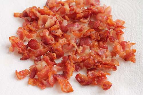bacon for the lima beans