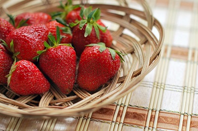 strawberries are 92% water