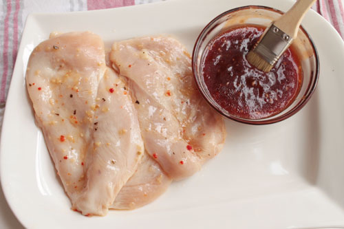 bbq sauce recipe on chicken