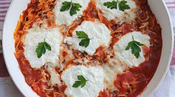 The Best Skillet Lasagna Recipe