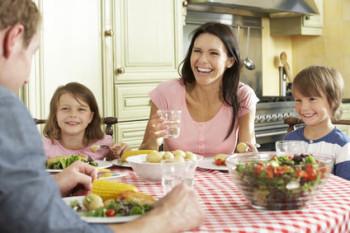 family dinner together