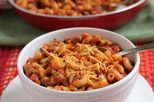 chili mac delicious