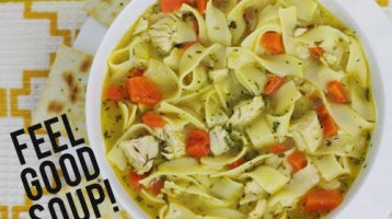 Simple Homemade Chicken Noodle Soup