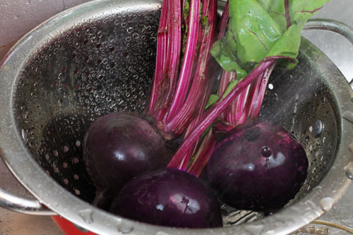 best way to roast beets