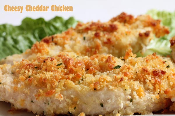 Crunchy Cheesy Chicken and Cheddar Recipe