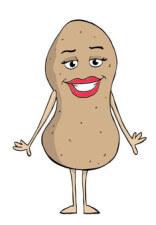 ms. healthy potato