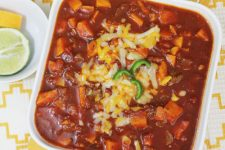 easy sweet potato chili