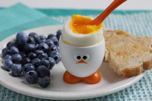 soft boiled eggs for breakfast