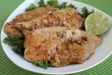 Healthy Chicken with Garlic and Lime