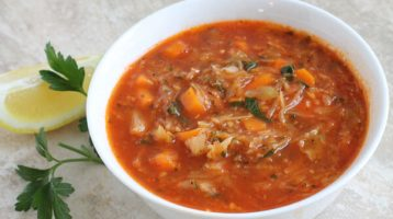 Healthy Cabbage Soup Recipe
