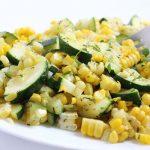 Zucchini and Corn Sautee