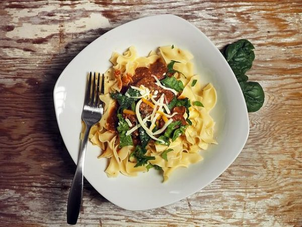 eating pasta is now good for you