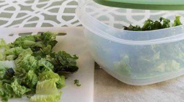 keeping lettuce fresher longer