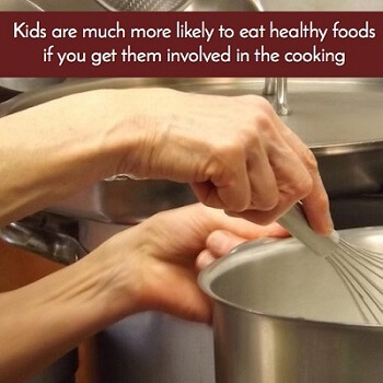 Teach Your Kids To Cook for Health Benefits