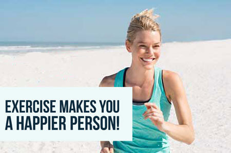 exercise makes you happier and improves your mood