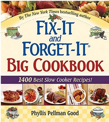 Cookbook Review of Fix-It and Forget-It Big Cookbook