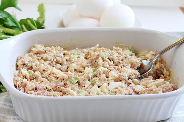 Best Tuna Fish Salad With Egg And Celery
