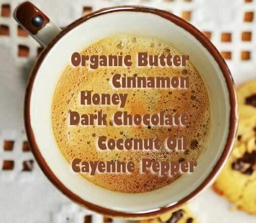 healthy breakfast includes coffee