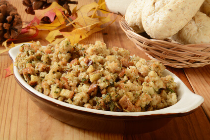 Turkey Stuffing Made in Advance for less stress