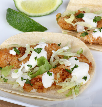 Recipe for Fish Tacos with Cod