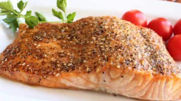 Salmon with Honey Lime