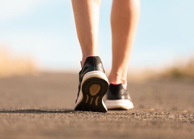 walking to burn calories