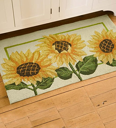 Sunflower Rugs For Your Kitchen To Brighten Up The Room