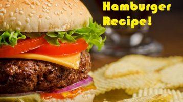 the best grilled hamburger recipe