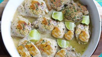 Chicken with Lime and Coconut