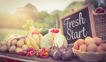 farm fresh table