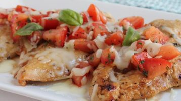 Grilled or Baked Bruschetta Chicken