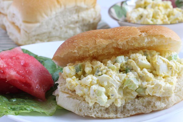 Egg salad Recipe using 6 eggs