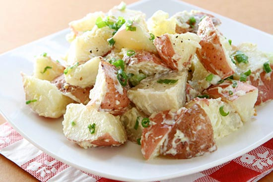 Easy Red Potato Salad