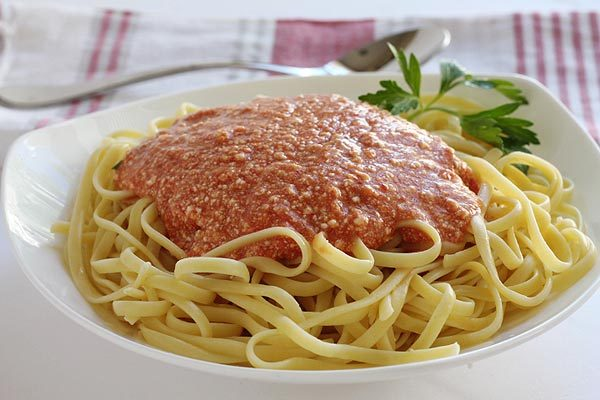 Ricotta Tomato Pasta Sauce