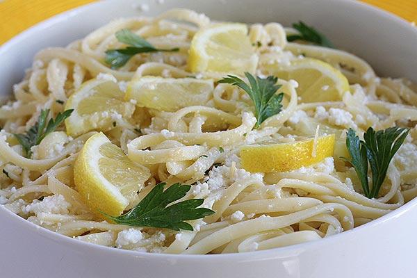 Lemon Ricotta Pasta Sauce